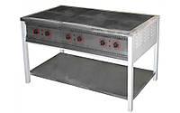 Плита промышленная электрическая без духовки Арм-Эко ПЕ-6 Ч эконом