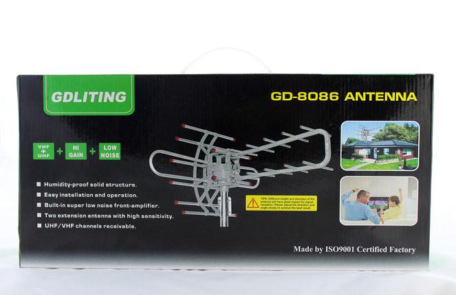 Телевизионная наружная TV антенна GD с усилителем