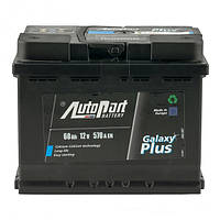 Аккумулятор AutoPart 60 Ah 12V Euro Plus (0)
