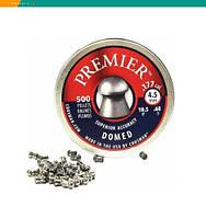 Пневматические пули Crosman Premier Domed 4.5 мм, 0,68 г, 500 штук