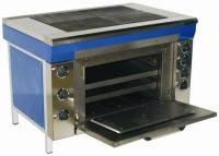 Плита промышленная электрическая Эфес Эталон ЭПК-2ШБ с духовкой