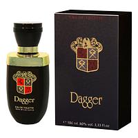 DAGGER men Туалетная вода 100 мл. (черный)  Dina Parfums