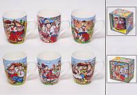 Красивая и оригинальная подарочная чашка в украинском стиле на 325мл.