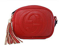 Сумочка в стиле Gucci (красная)  №80118-9
