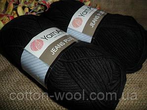 Yarnart Jeans Plus (Ярнарт Джинс Плюс) 53 черный