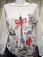 Женский молодежный качественный свитер 50-54 рр