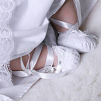Пинетки Изабелла от Miminobaby белые