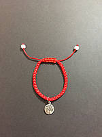 Браслет красная нить с оберегом Древо жизни - символ долголетия, плодородия и здоровья