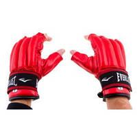 Снарядные перчатки шингарты EVERLAST Rexion Strap (р.M, красный)