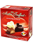 Шоколадные конфеты Maitre Truffout Herzpralinen сердце, 45 гр.