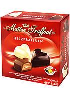 Шоколадные конфеты Maitre Truffout Herzpralinen сердце, 45 гр., фото 1
