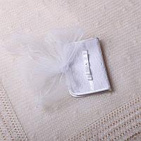 Конверт для волос Изабелла от Miminobaby белый
