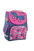 Рюкзак каркасний Smart  PG-11 1 Вересня Jeanse butterfly 553343