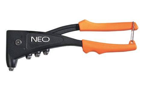 Заклепочник для заклепок стальных и алюминиевых 2.4, 3.2, 4.0, 4.8 мм, NEO  18-103, фото 2