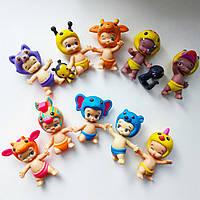 Коллекционные фигурки малыши Twozies, пара малыш+его питомец