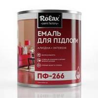 Эмаль для пола ПФ-266 глянцевая (0.9кг) Ролакс
