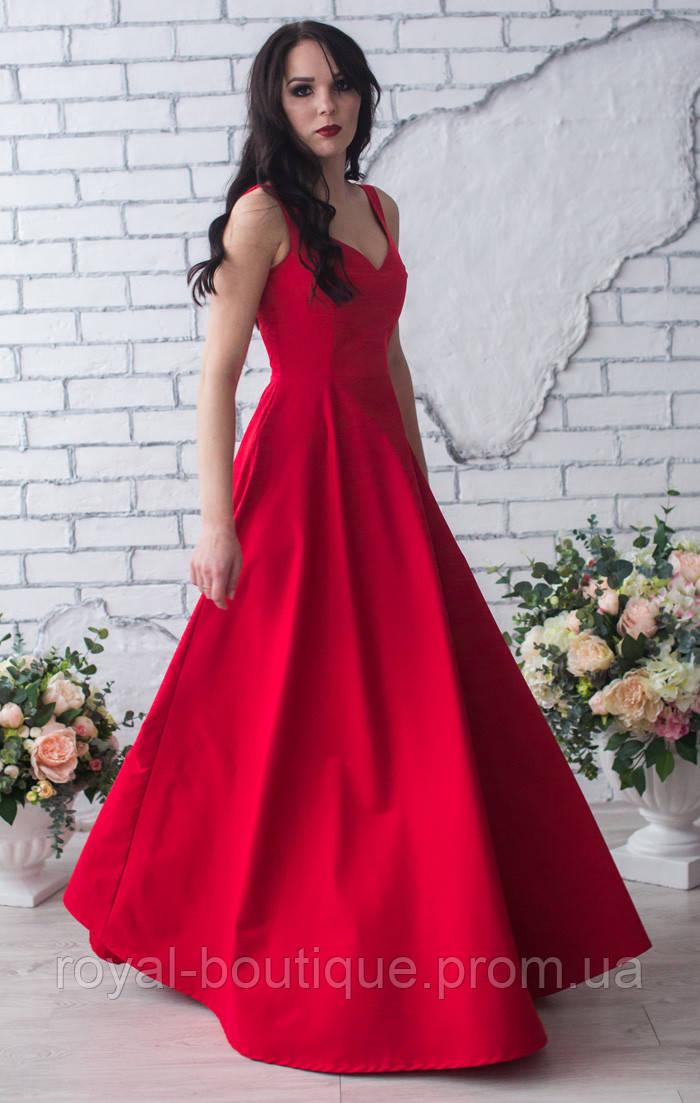 b346064082c Красное длинное вечернее платье - Магазин женской одежды «Роял-бутик» в  Белой Церкви