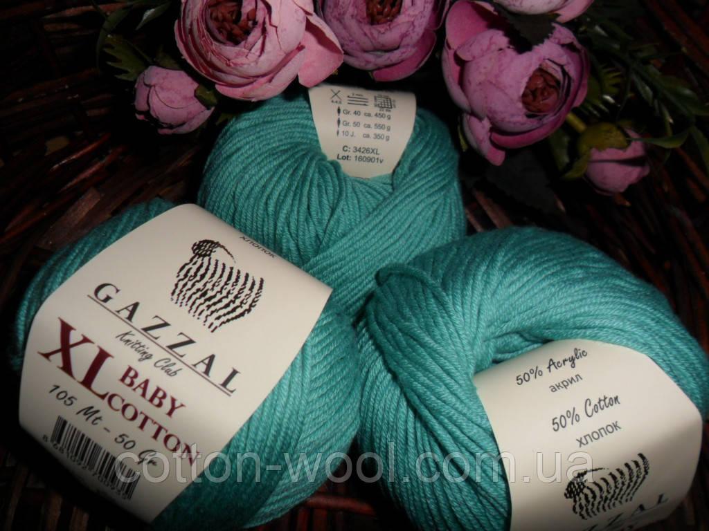Gazzal Baby cotton XL (Беби коттон ХЛ) 3426 ментол