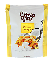 Кокосовые чипсы сладкие, ТМ «COCODELI» 30 гр