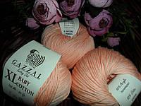 Gazzal Baby cotton XL (Беби коттон ХЛ)  3412 персиковый