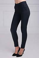 Модные укороченные брюки с боковыми косыми карманами