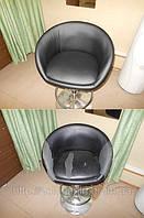 Перетяжка мебели. Обивка барного стульчика