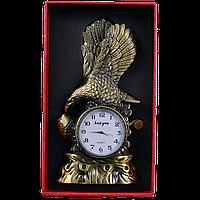 Зажигалка подарочная с часами Орёл (Золото) №4371