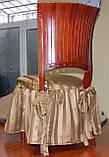 Пошив нарядного чехла на стулья, фото 2