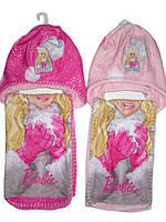 Шапка+шарф для девочек Barbie