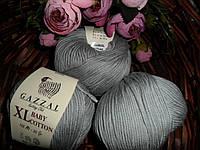 Gazzal Baby cotton XL (Беби коттон ХЛ) 3430 серый