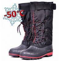 Зимние сапоги-бахилы Nordman RED охотничьи с многослойным вкладышем ,водоотталкивающая ткань (OX-14 О 1.14)