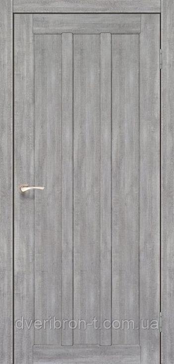 Двери Корфад Napoli NP-04 эш-вайт глухое