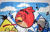 Флисовое покрывало для мальчиков Angry Birds 120*140 см