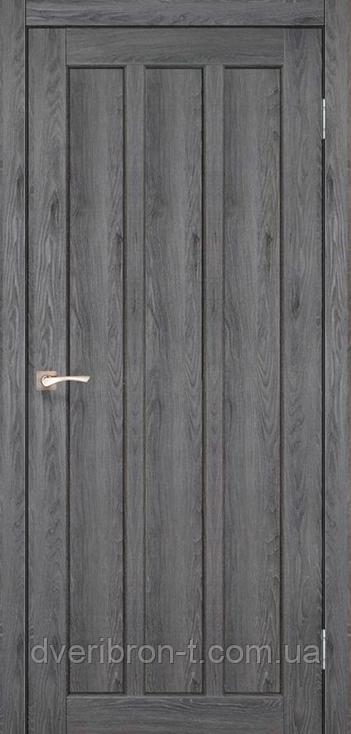Двери Корфад Napoli NP-04 дуб марсала глухое
