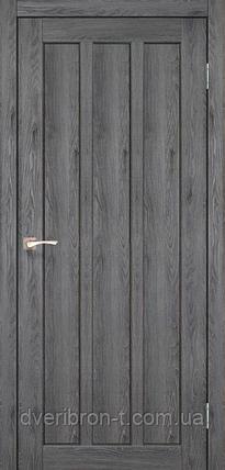 Двери Корфад Napoli NP-04 дуб марсала глухое, фото 2
