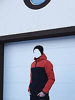 Осеняя стильная куртка Победов - Pobedov Double Colour Spring Jacket(Navy - Orange  )