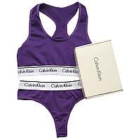 Женский комплект Calvin Klein фиолетовый