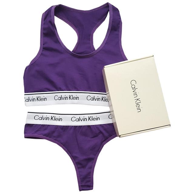 фиолетовый комплект Calvin Klein