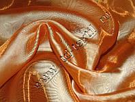 Тюль микровуаль Золотистый