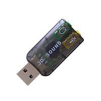 USB Звуковая карта внешняя 3D звук sound card