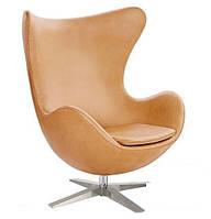 Кресло ЭГГ бежевое (СДМ мебель-ТМ)