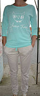 Пижама, комплект для дома. 100% х/б. Lemila 602-1. Размер S