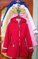 Модное пальто в красивых расцветках для девочек 0480