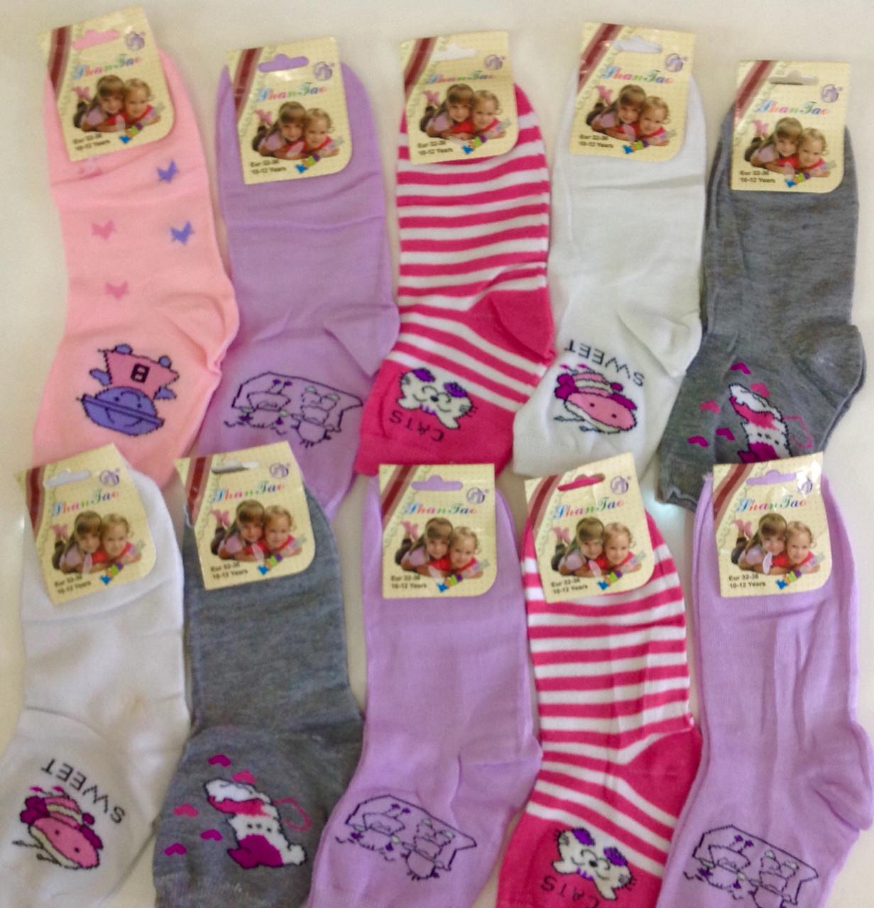 Носки для девочки 3-14 лет