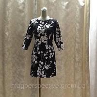 "Короткое платье 3/4 рукав ""сакура"" Dolce&Gabbana"