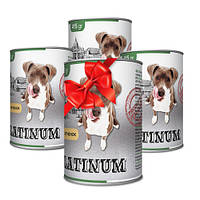 Покупай 4 по цене 3 PLATINUM Lamb сбалансированный корм премиум класса для собак с мясом ягненка 415 г
