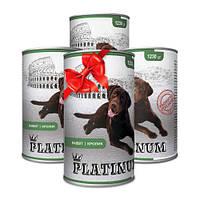 Покупай 4 по цене 3 PLATINUM Rabbit сбалансированный корм премиум класса для собак с мясом кролика 1230 г