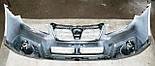 Декоративно-защитная сетка радиатора Subaru Outback 2009- воздухозаборник, бампер, фальшрадиаторная решетка, фото 3