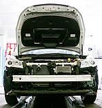 Декоративно-защитная сетка радиатора Subaru Outback 2009- воздухозаборник, бампер, фальшрадиаторная решетка, фото 2