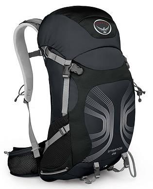 Рюкзак туристический Osprey Stratos 26 Black АКЦИЯ-30%